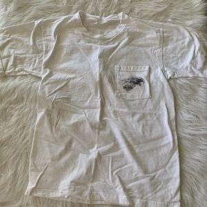 Eagle head Harley Davidson pocket t-shirt